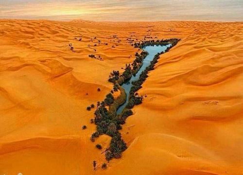 دریاچه اوباری لیبی