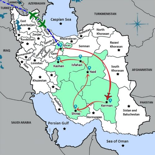 DISCOVER IRAN IN 13 DAYS - 1