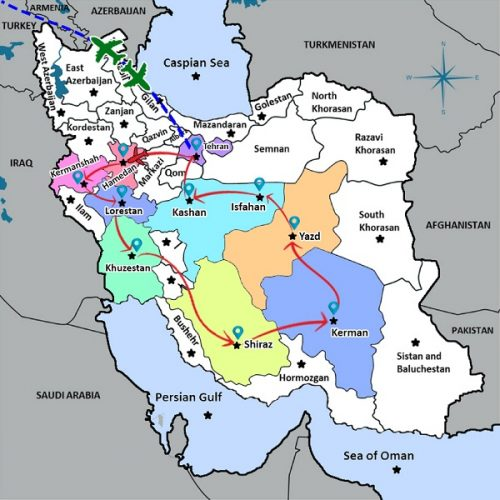 TRAVEL AROUND IRAN IN 19 DAYS