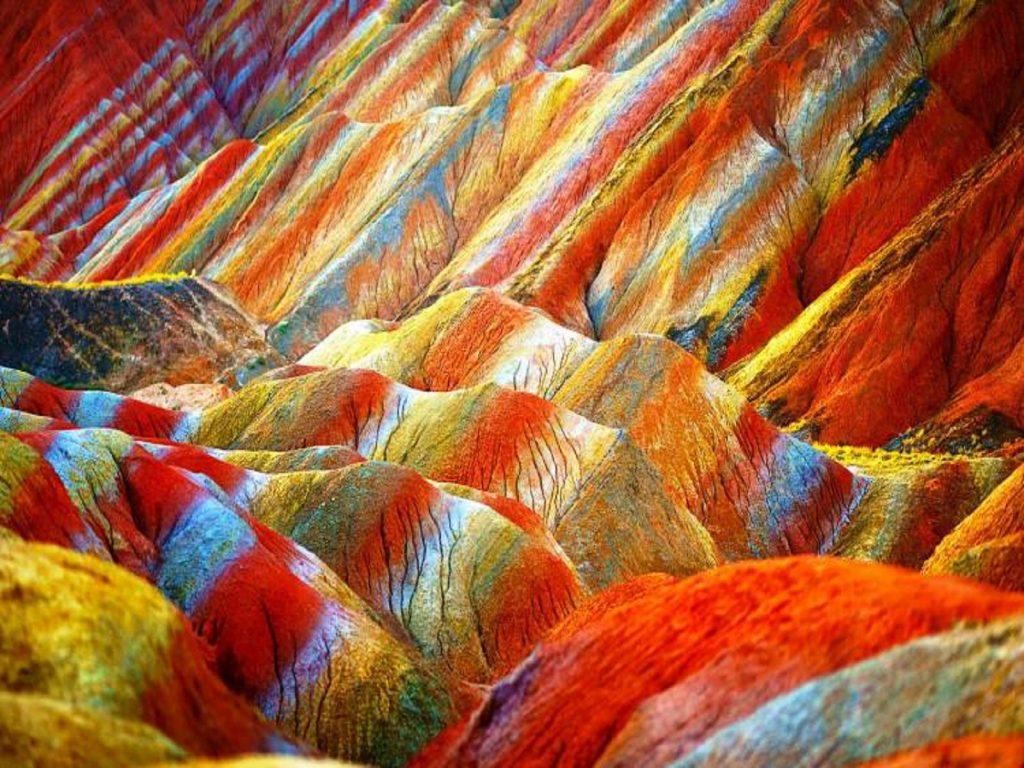 صخره های Danxia چین