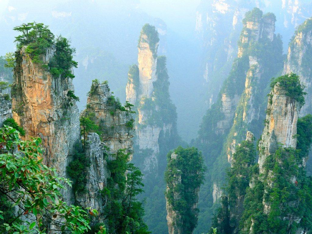 پارک ملی ژانگ جیاجی چین