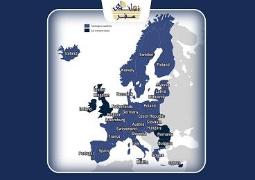 تفاوت کشورهای اتحادیه اروپا و حوزه شینگن چیست؟